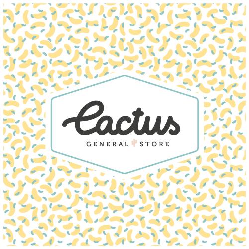 Cactus General Store { identité visuelle vegan }