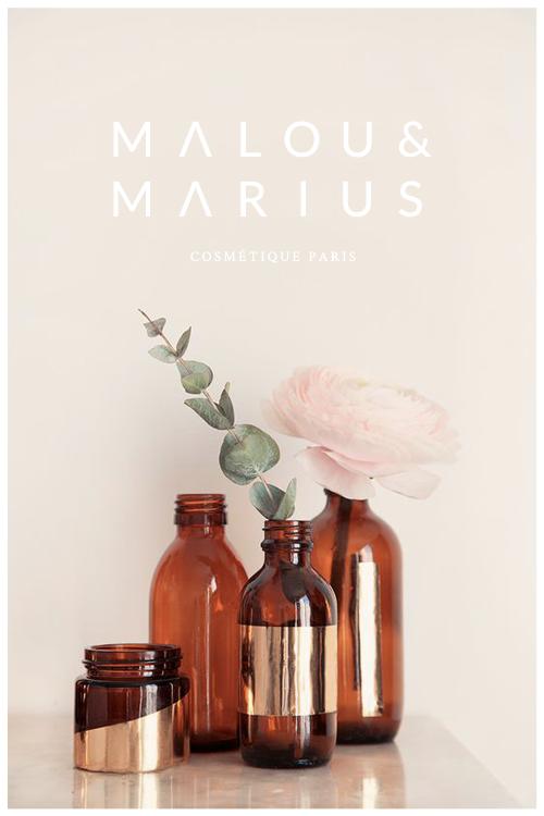 Malou et Marius { identité visuelle et packagings }