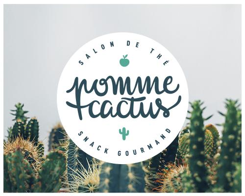 Pomme Cactus { identité visuelle pétillante }