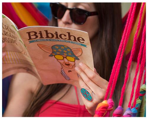 Bibiche le Mag { direction artistique et illustrations  }