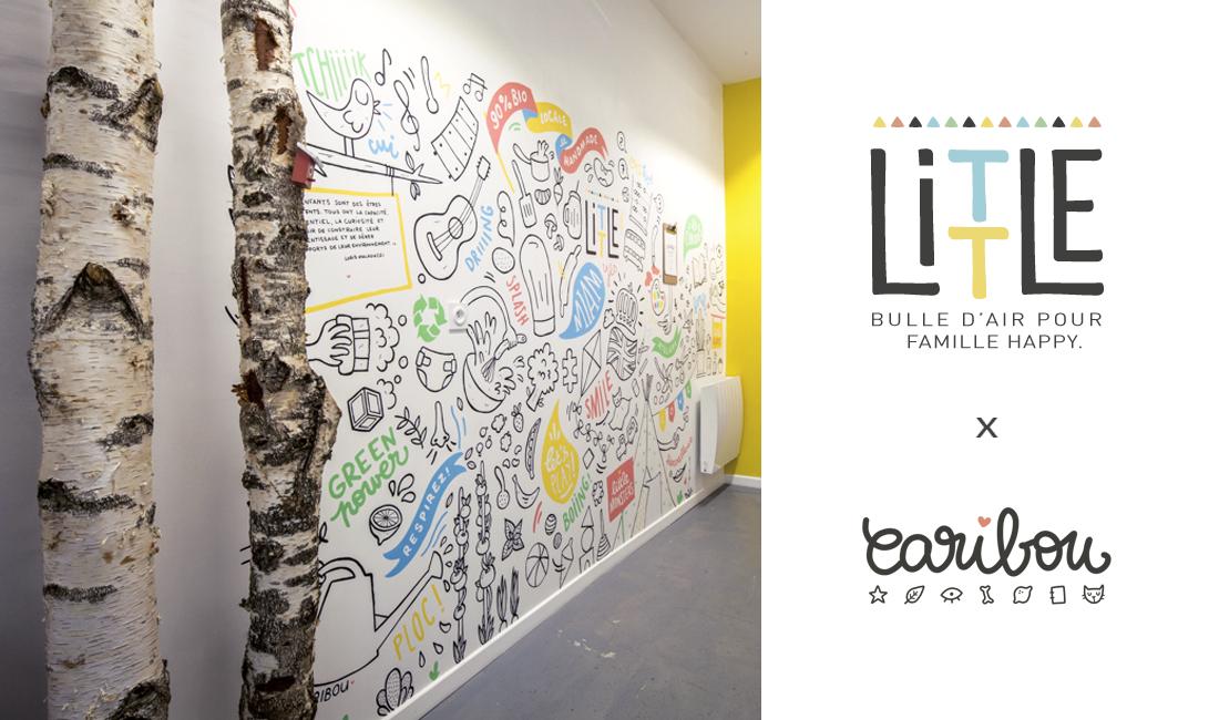 Little I Création et réalisation de fresques illustrées dans des crèches à Bordeaux